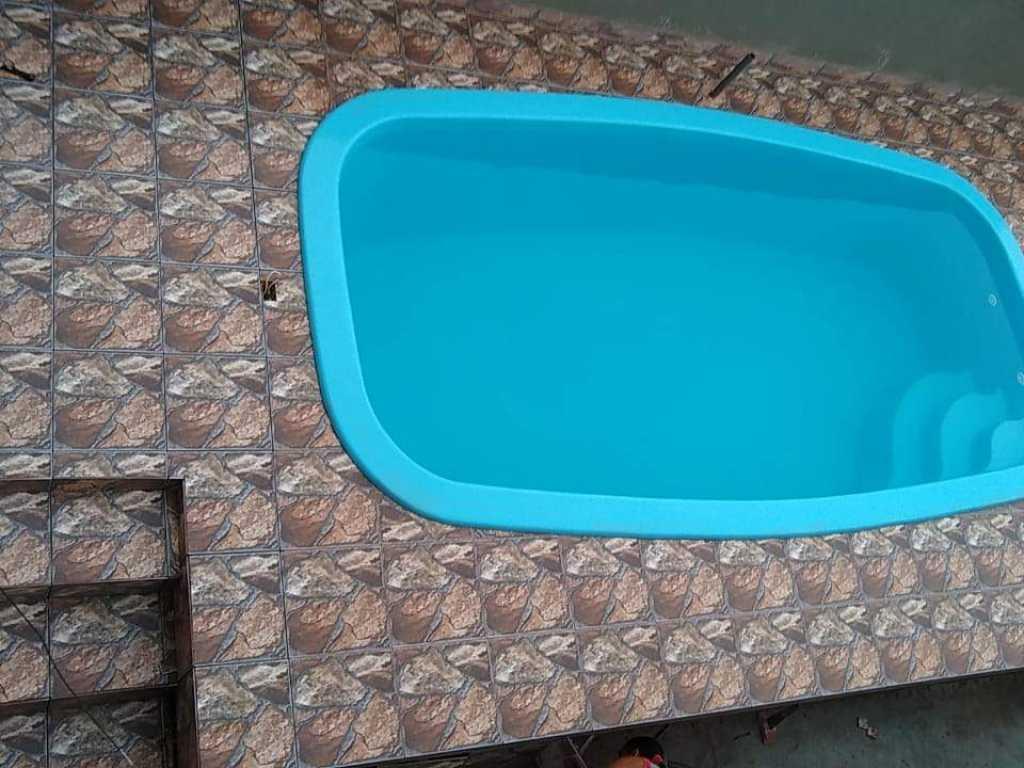 Ótima casa com piscina em Praia Grande
