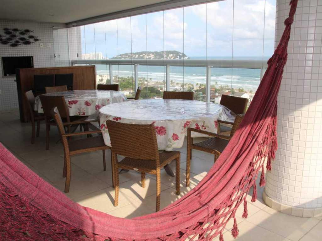 APTO. ALTO PADRÃO Frente para a Praia .VISTA TOTAL - Estrutura Resort Completo