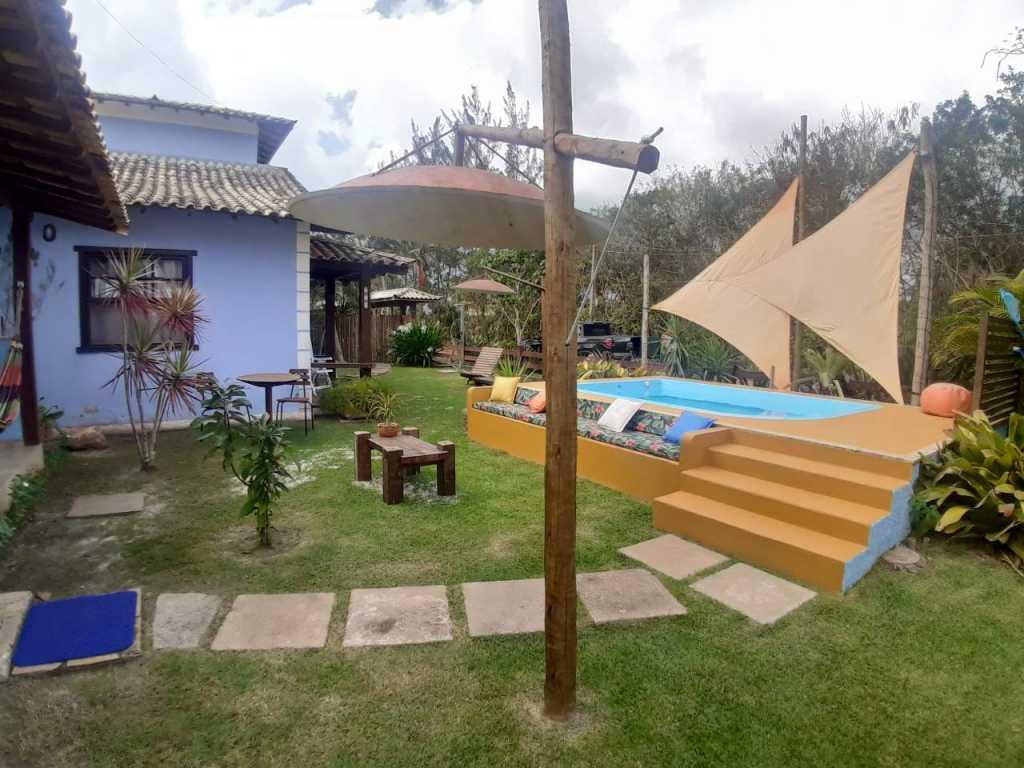 Casa temporada com piscina