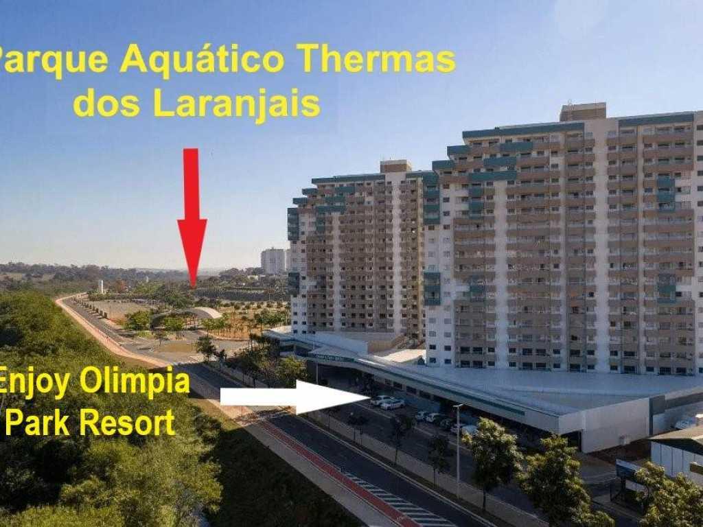 Alugo Apartamento em Resort em Olímpia - SP
