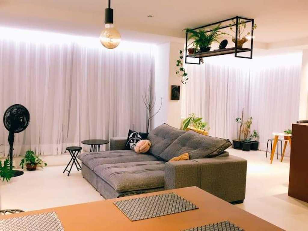Maravilhoso apartamento moderno com vista mar! Luxo em Itapema/SC
