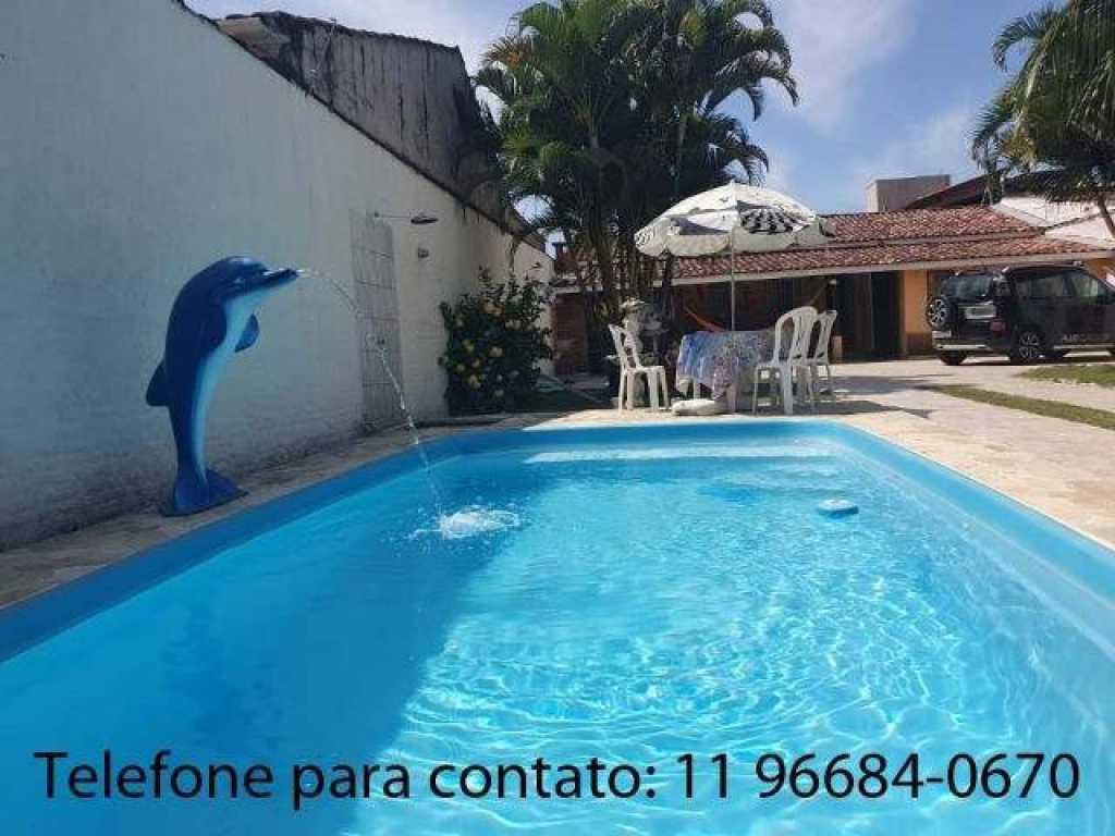 Incrível casa de Praia com piscina em Caraguatatuba