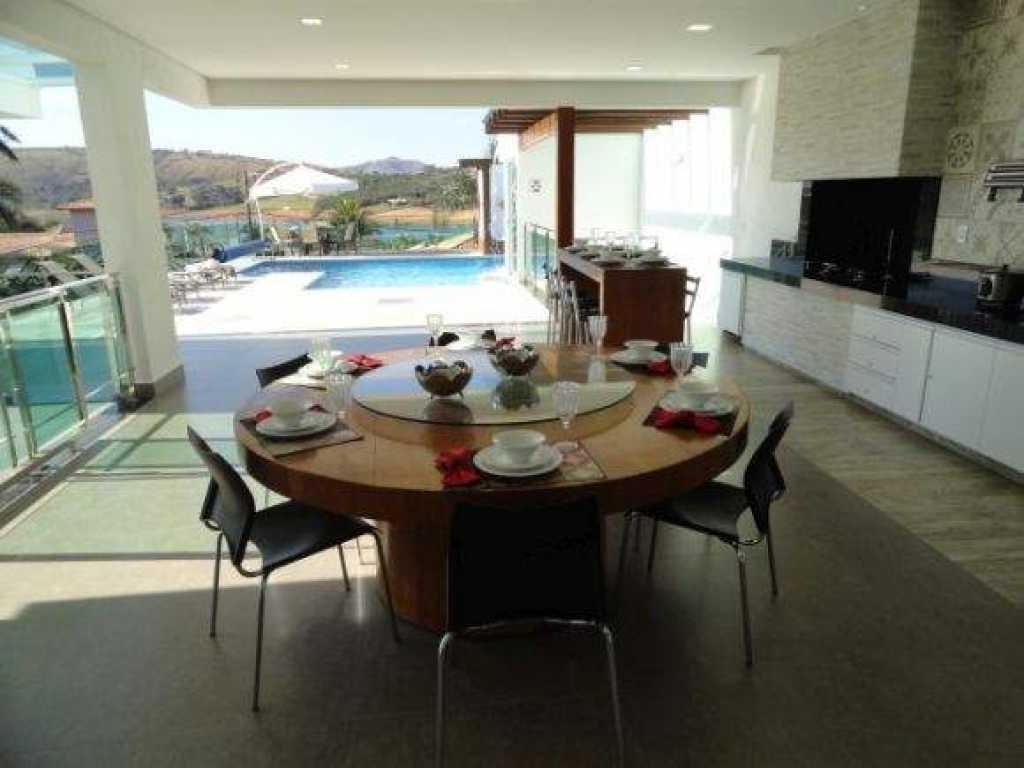 Casa Super Luxo Condomínio Escarpas do Lago
