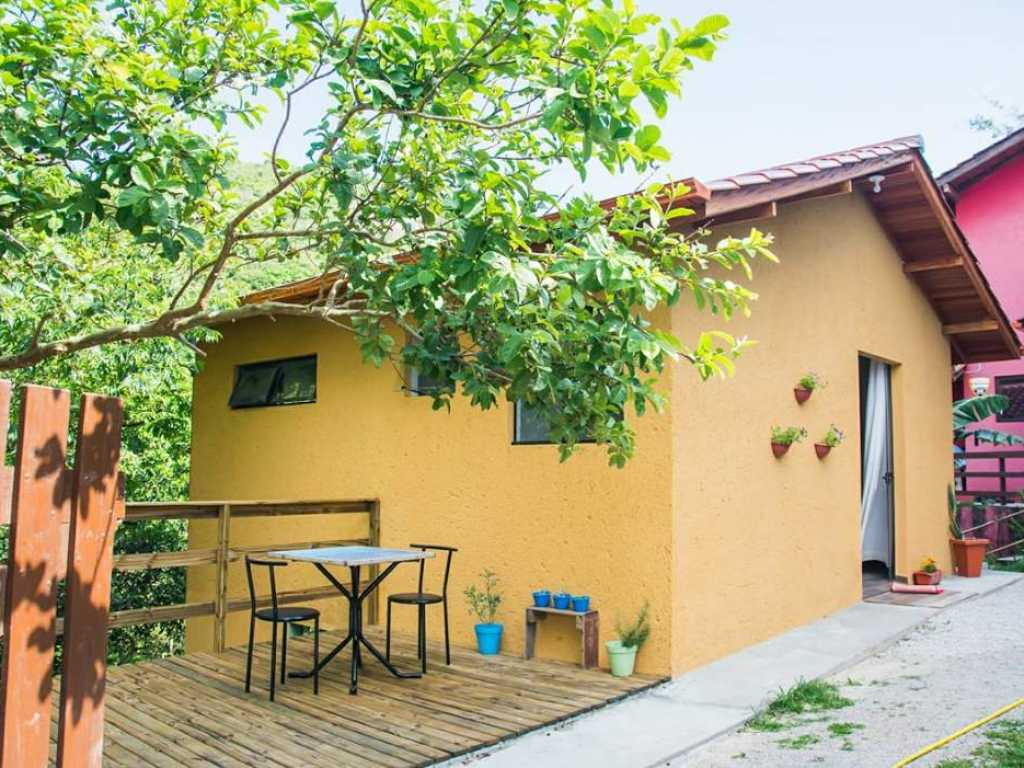Casa ao lado da reserva ambiental perto da praia da Joaquina