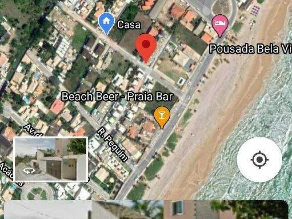 Chalé na praia do Flamengo
