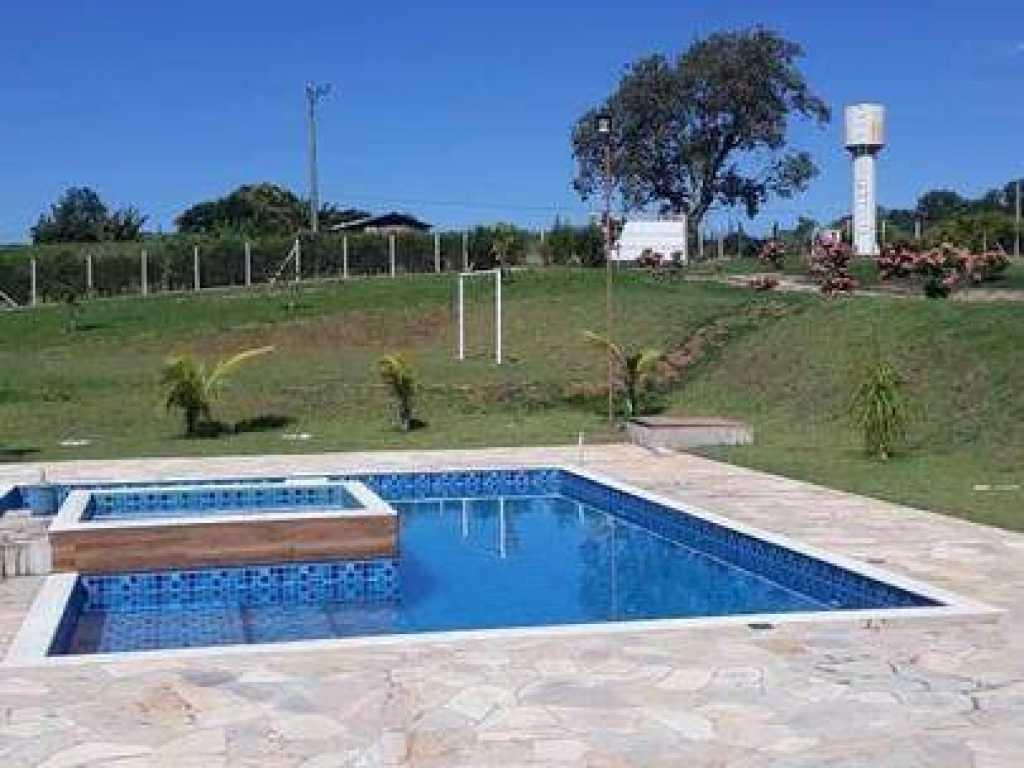 Sítio em Porto Feliz alto padrão vista panorâmica com hidromassagem