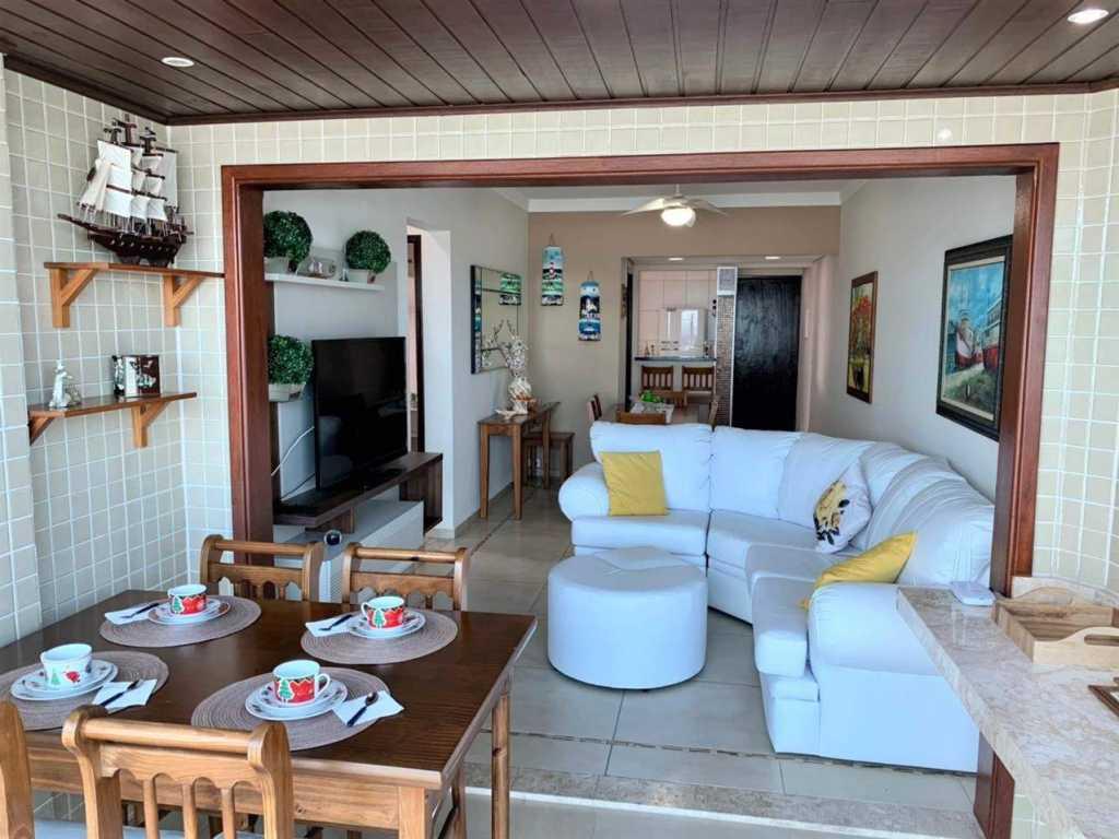 Apartamento moderno com exclusiva vista para a praia!