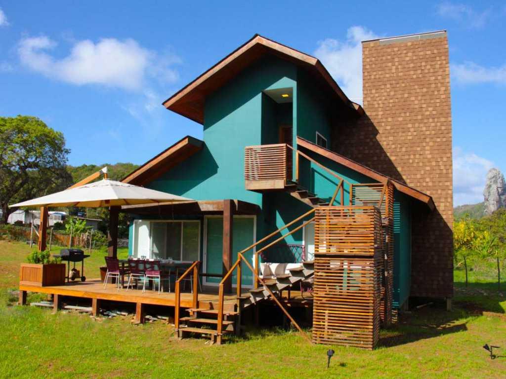 Casa em Fernando de Noronha com 04 quartos