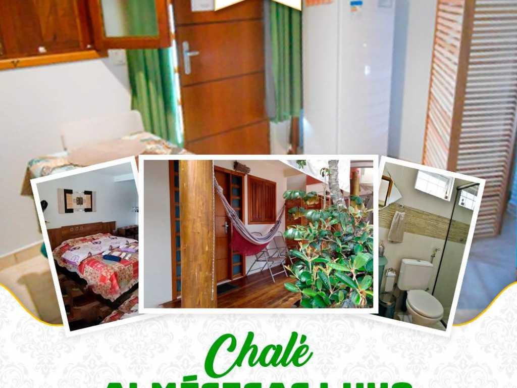 Chalé Beija-flor 2 suítes cozinha / sauna / piscina