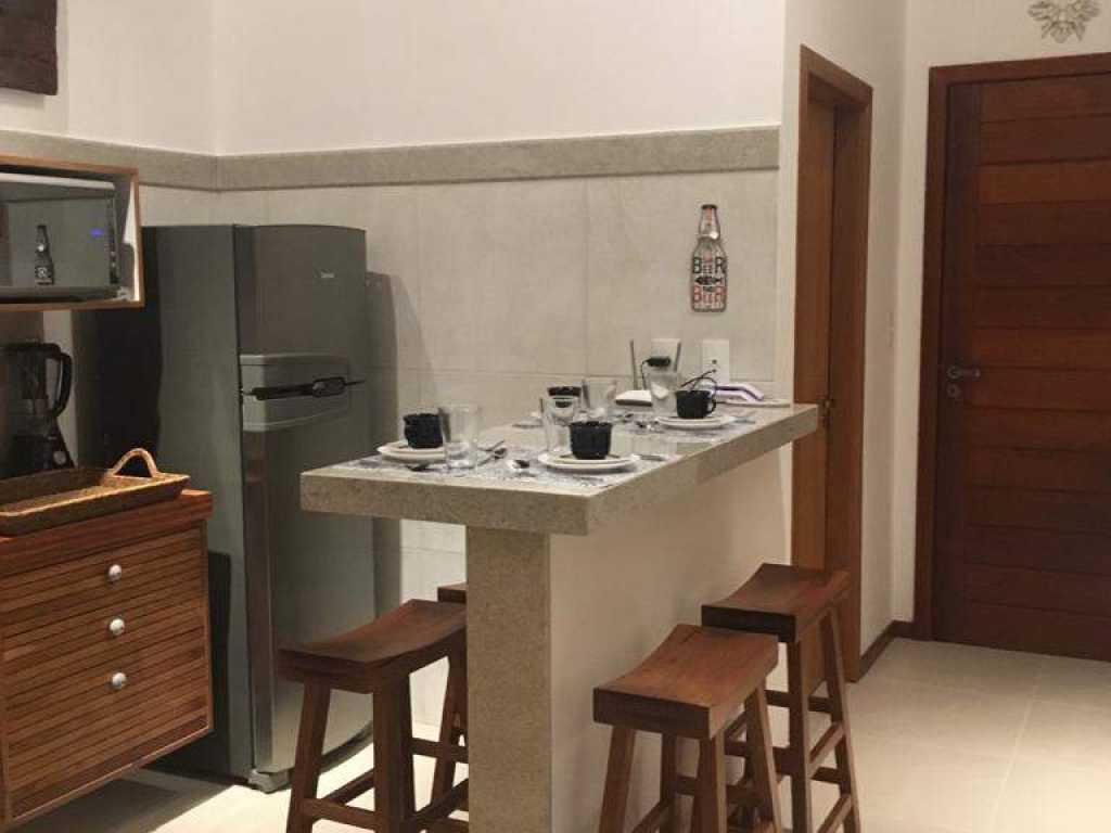 Fantástico apartamento em Praia do Forte