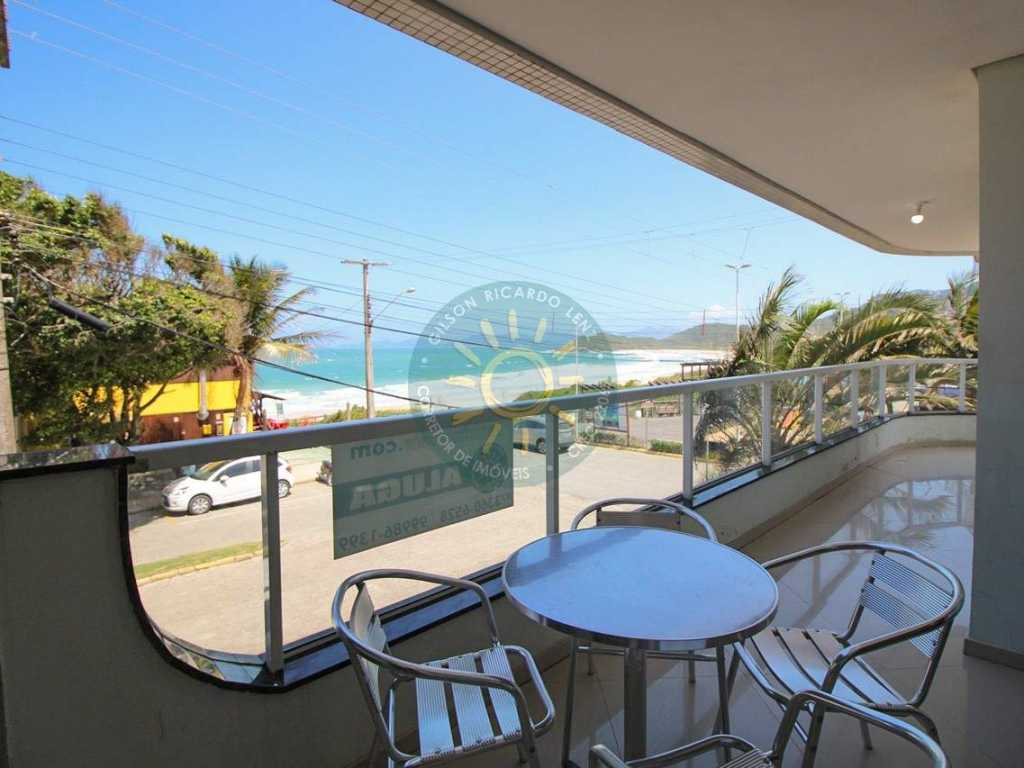 Apartamento para 8 pessoas com vista para o mar, localizado na praia de Quatro Ilhas - Bombinhas