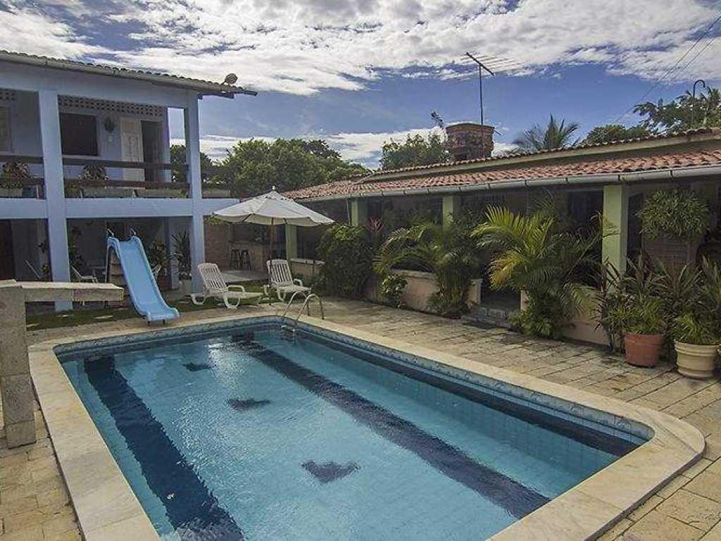 Casa da Vovó Rute - Casa de Praia no Pontal de Itamaracá - piscina