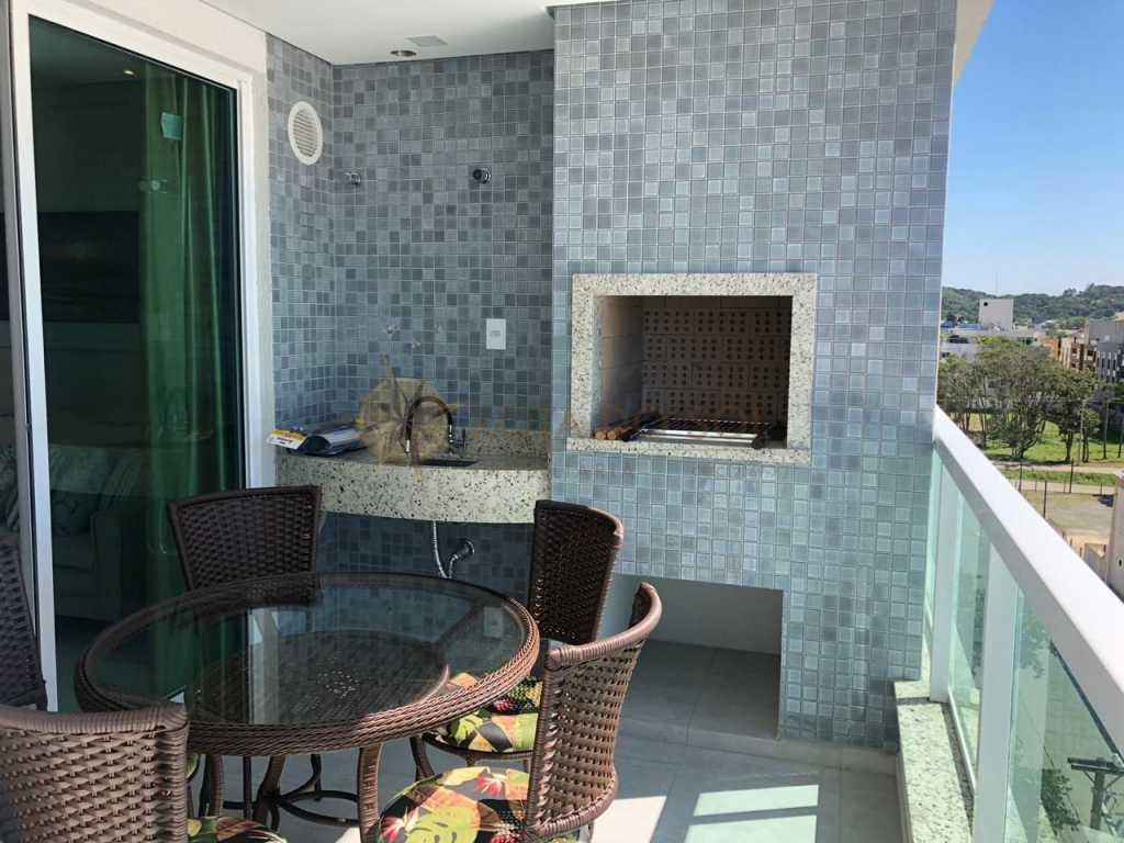 Cód 127A - Apartamento Novo para alugar em Bombas para até 5 pessoas, 2 vagas de garagem e Wi-Fi.
