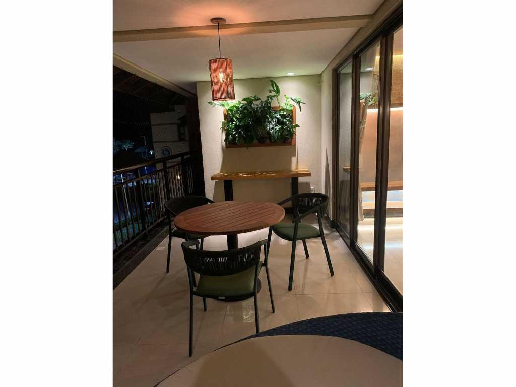 Bangalo 27 duplex luxo p/ alugar temporada Aquiraz - Verde