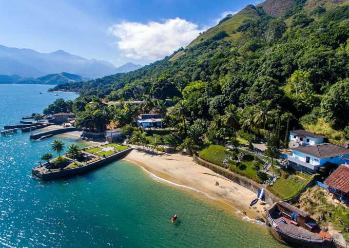 Ang060 - Villa de 8 suites frente mar em Angra dos Reis