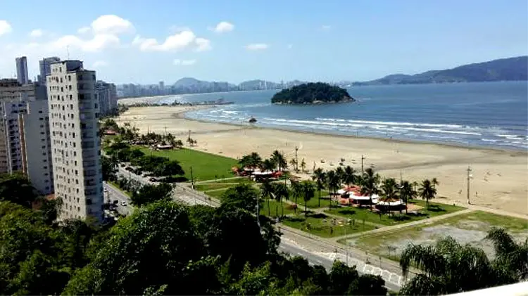 Praia do Forte, uma das regiões que fazem parte da Praia Grande