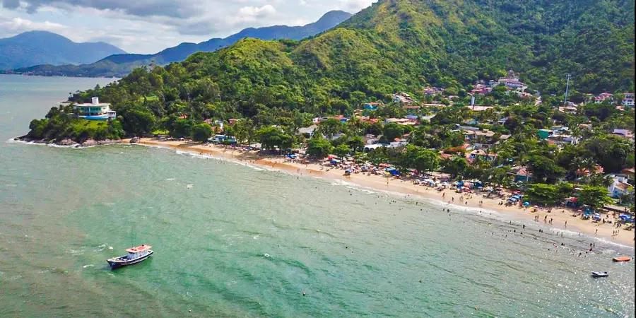 Santos é uma das praias mais famosas do litoral paulista